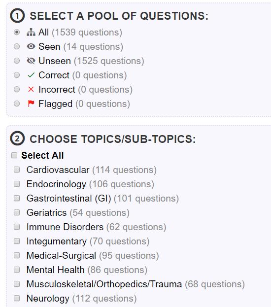 NCLEX-PN Practice Questions & NCLEX-PN Review | NurseAchieve